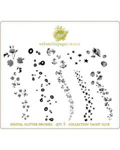 Yacht Club Digi Glitter Brushes