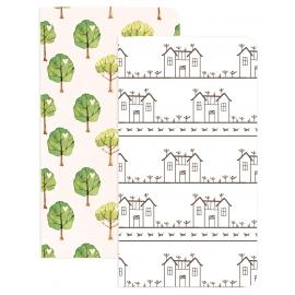 MHP Traveler Notebooks - House&Trees