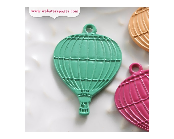 10-pc Charm: Blue Balloon