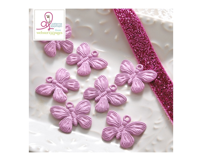 10-pc Charm: Butterfly