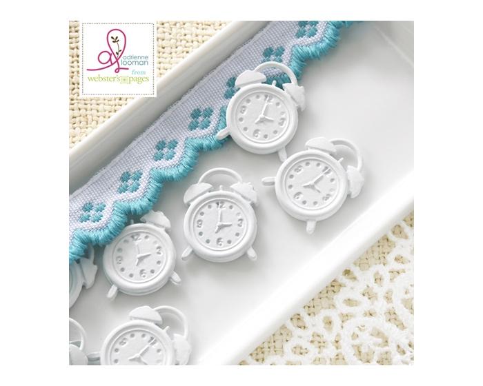 10-pc Charm: Clocks