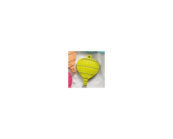 10-pc Charm: Green Balloon