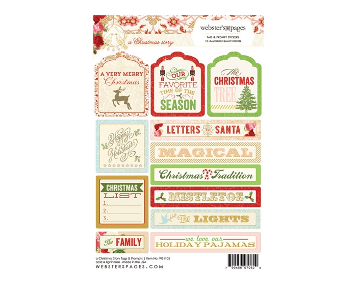 A Christmas StoryTag & Prompt Sticker