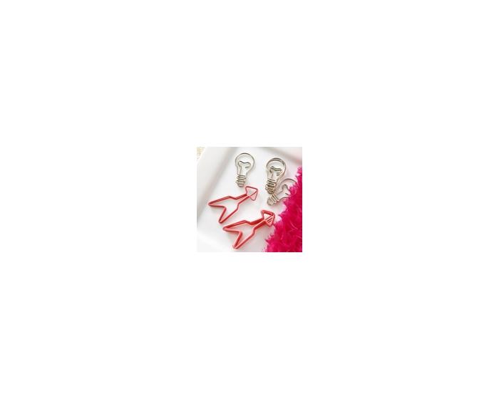 Arrows / Light bulb Paperclips