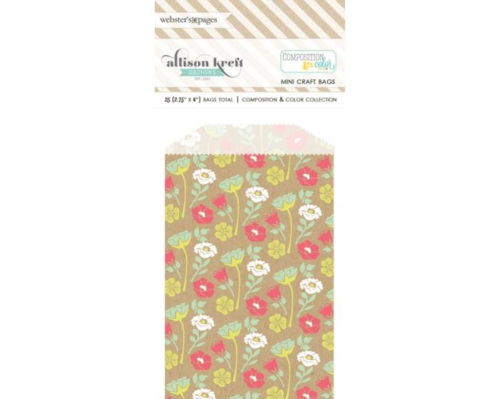 Bulk Bags Floral: Kraft