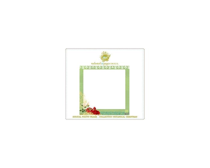 Digi Photo Frame Botanical Christmas 1