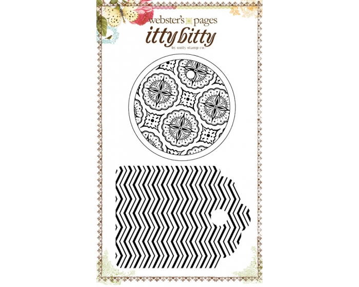 Doily & Chevron Tag Set