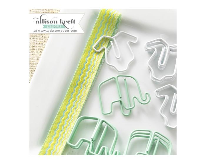 Elephant / Onesie Paperclip