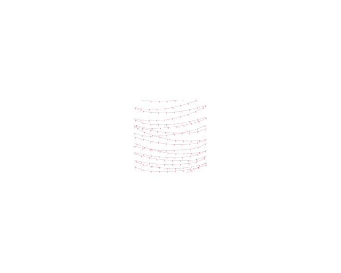 Hanging Lights-Pink Overlay
