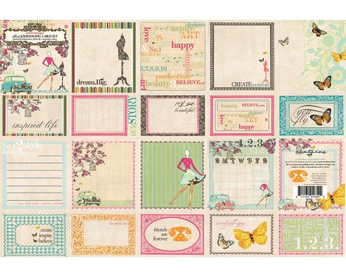 Journaling Cards - Trendsetter