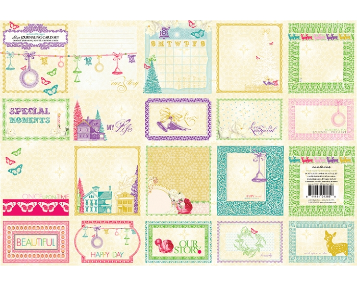 Journaling Cards - Winter Fairy Tales