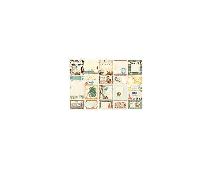 Journaling Cards - Botanical Christmas