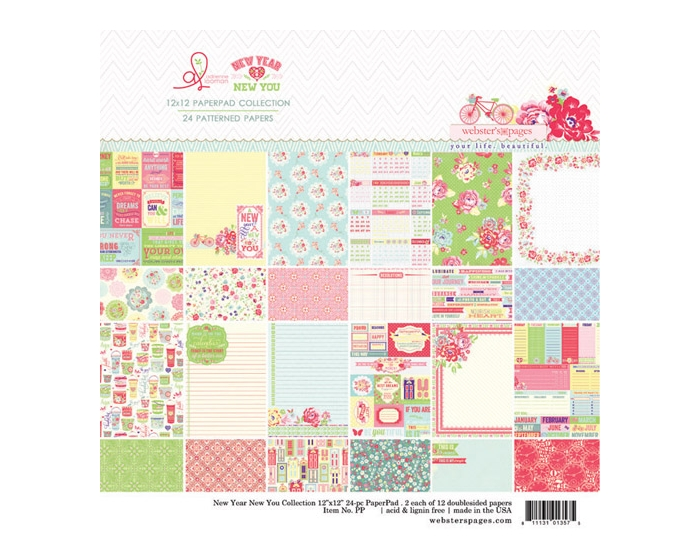 New Year New You 12x12 Collection Pad