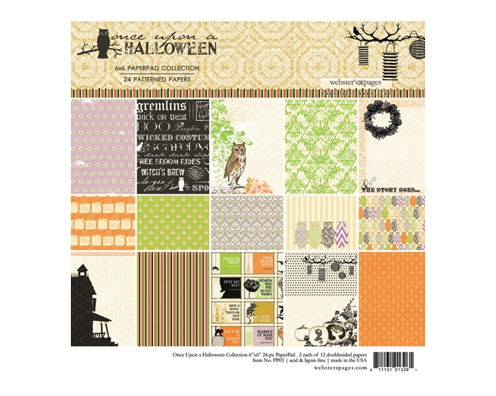 Once Upon A Halloween 6x6 Collection Pad