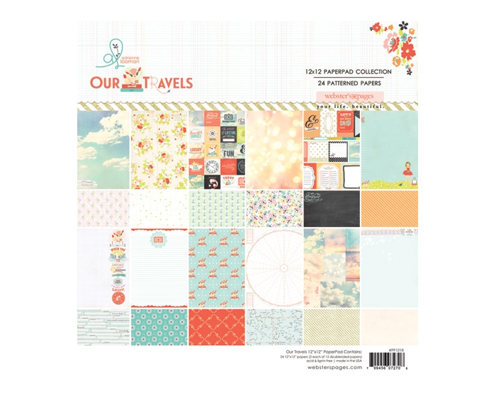 Our Travels 12x12 Collection Pad