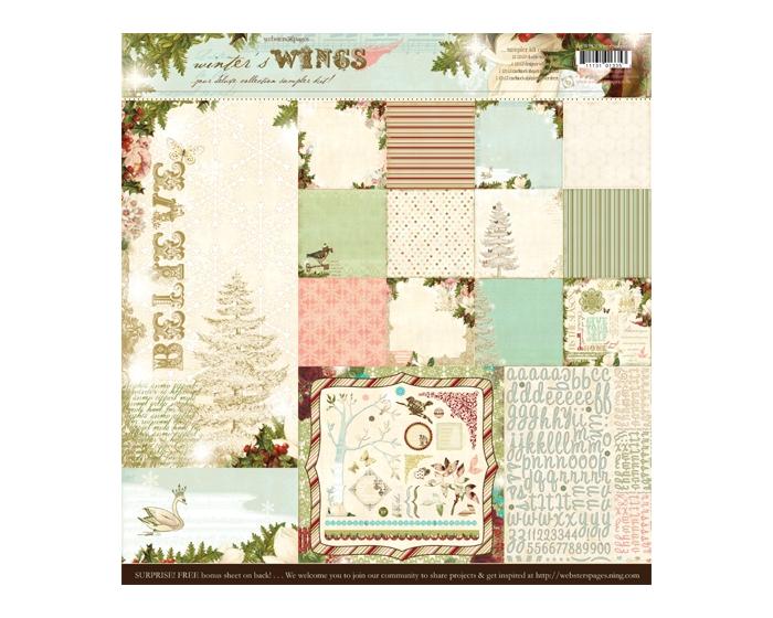 Paper Kit- Winter's Wings