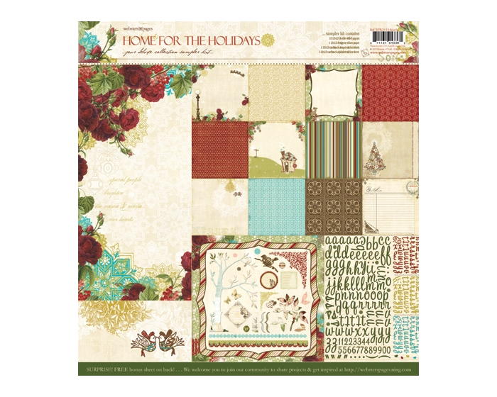 Paper Kits- Home for the Holidays