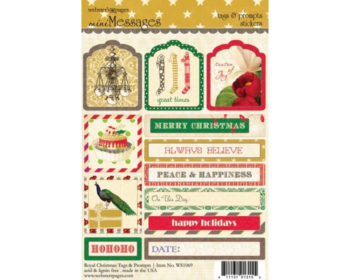 Royal Christmas Tags & Prompts