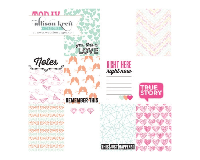 Sprinkled with Love Overlay 3x4 Cards Kit