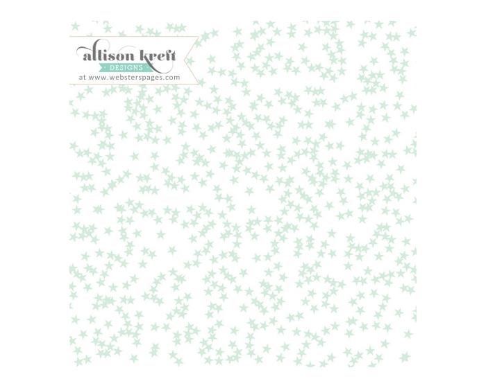 Stars- Mint Overlay