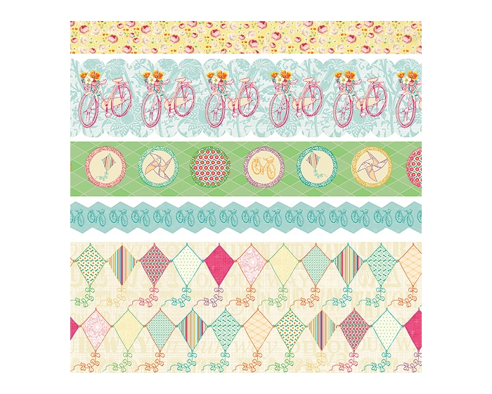 Sunday Picnic Fabric Ribbon