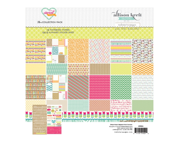Sweet Notes Collection Pack