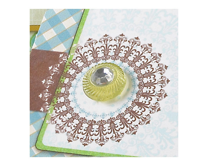 the HARVEST Accents } Sparklers Sage