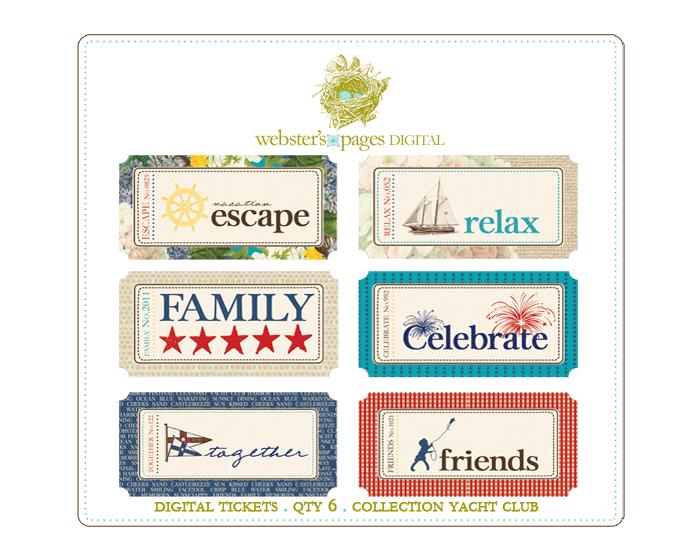 Yacht Club Digi Tickets