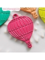 10-pc Charm: Dark Pink Balloon