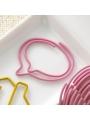 20-pc Paperclip Bulk: Bubble Pink