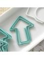 20-pc Paperclip Bulk: Arrow Blue