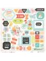 Chipboard Sticker Board- Our Travels