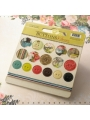 Ladies & Gents- Chipboard Buttons & Twine