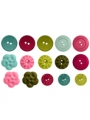 Plum Seed Digital Buttons