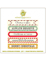 Royal Christmas Journaling Stickers