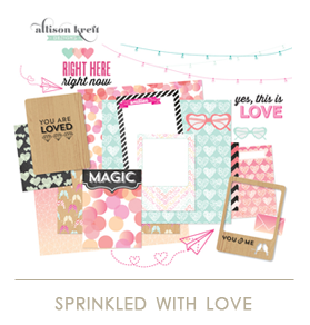 Webster's Pages Sprinkled with Love