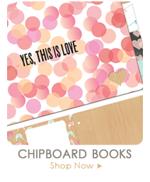 Webster's Pages Chipboard Books