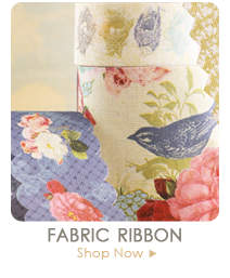 Webster's Pages Fabric Ribbon