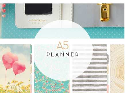 Webster's Pages A5 Dividers