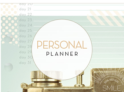 Webster's Pages Personal Planner Refills