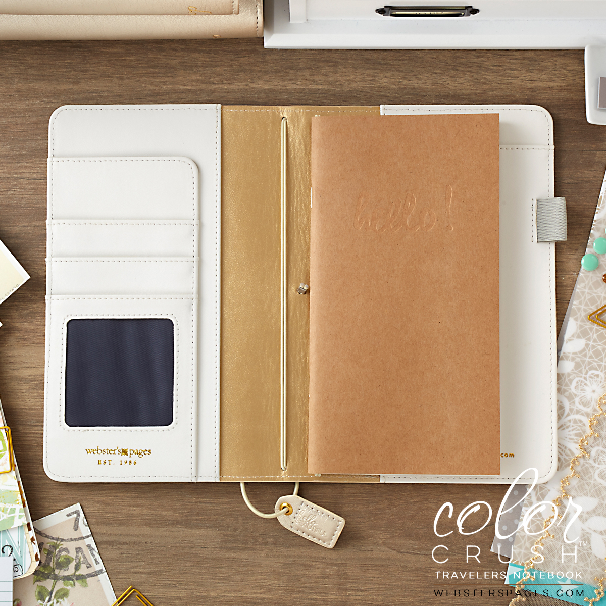 Champagne Color Crush Traveler Notebook