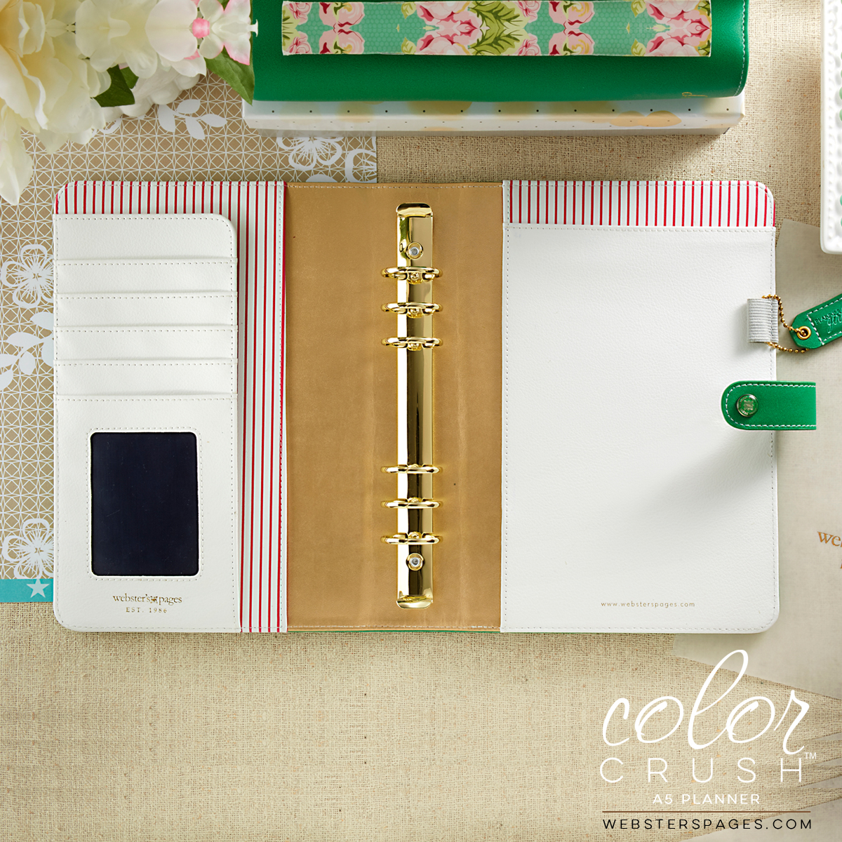 A5 Color Crush Green Planner