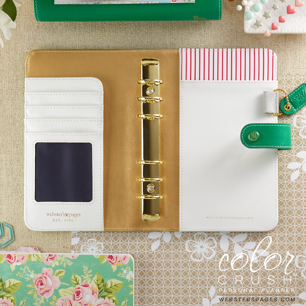 Personal Color Crush Green Planner