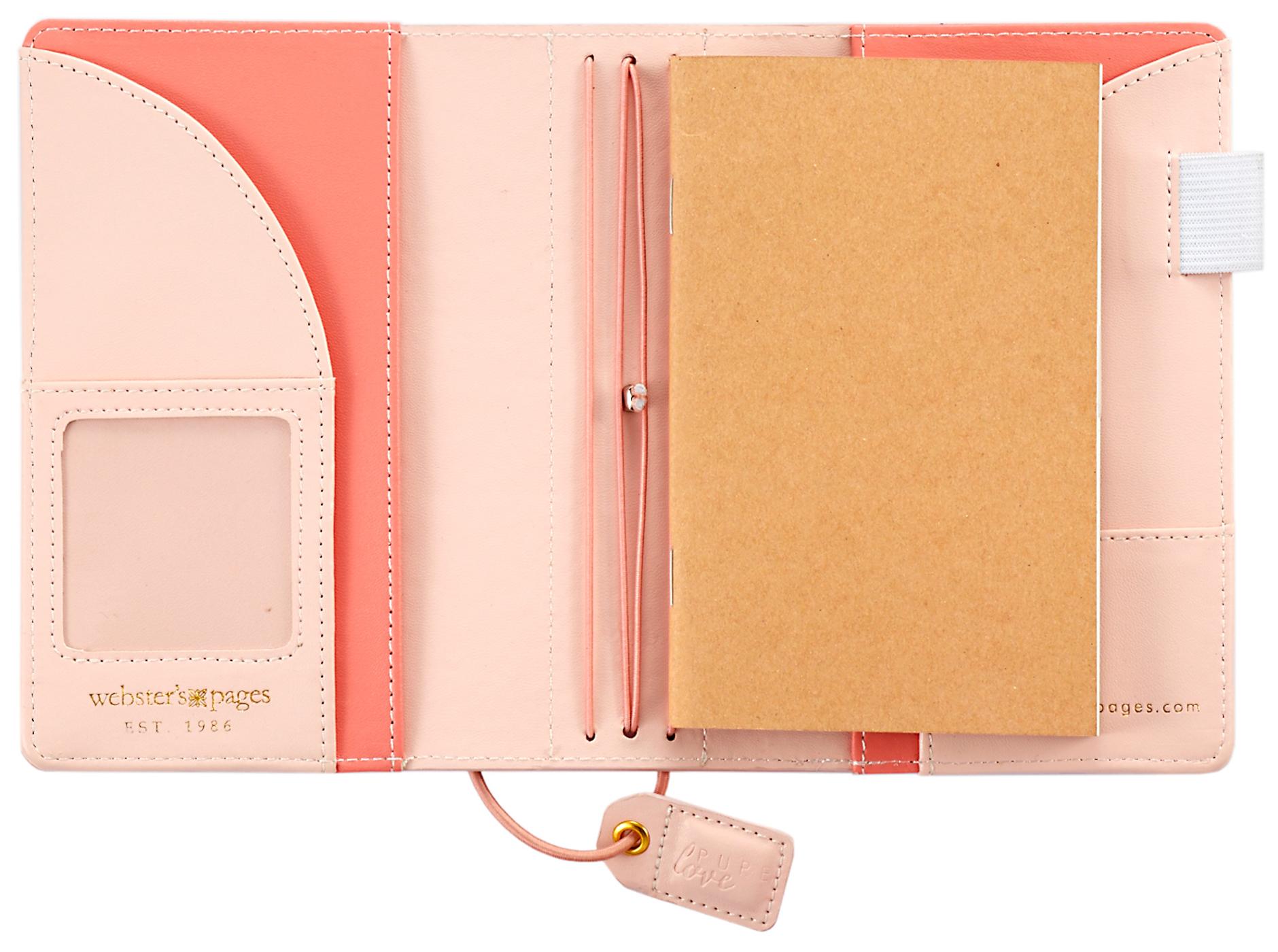 Blush Pocket Traveler Notebook