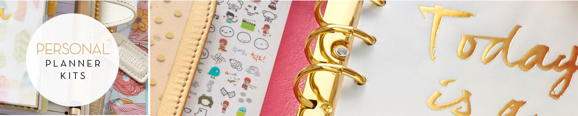 Webster's Pages Personal Planner Kits