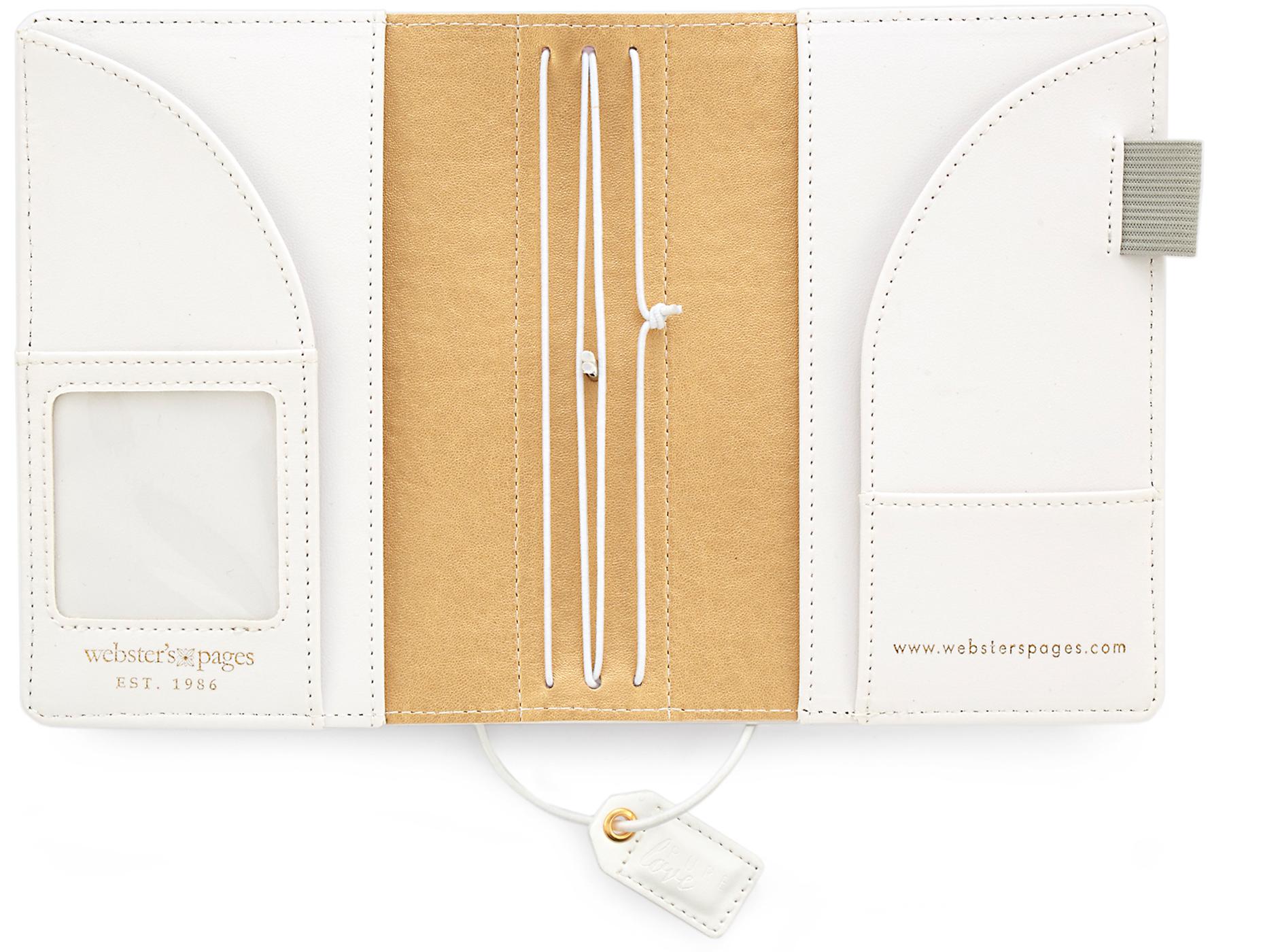 Rainbow Pocket Traveler Notebook