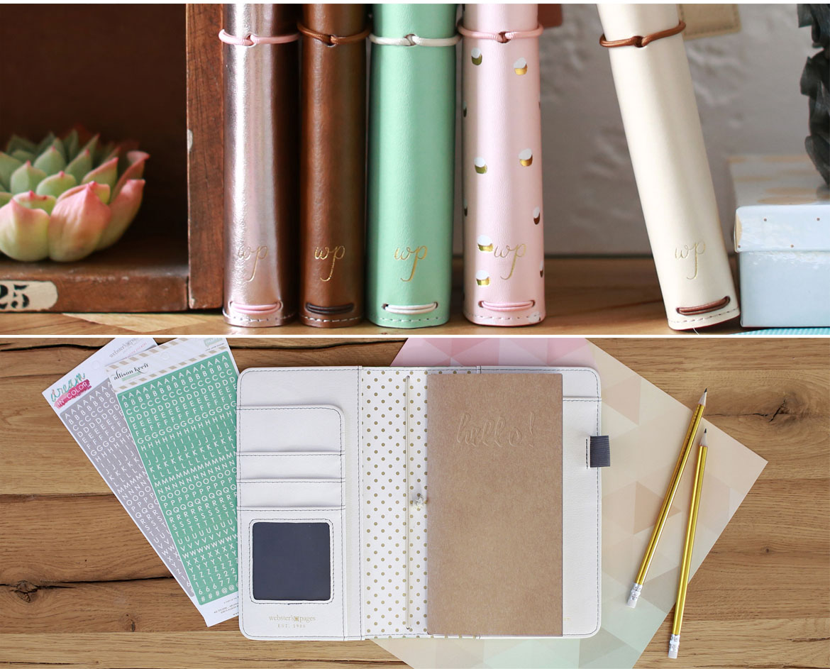 Webster's Pages Travelers Notebook Planners