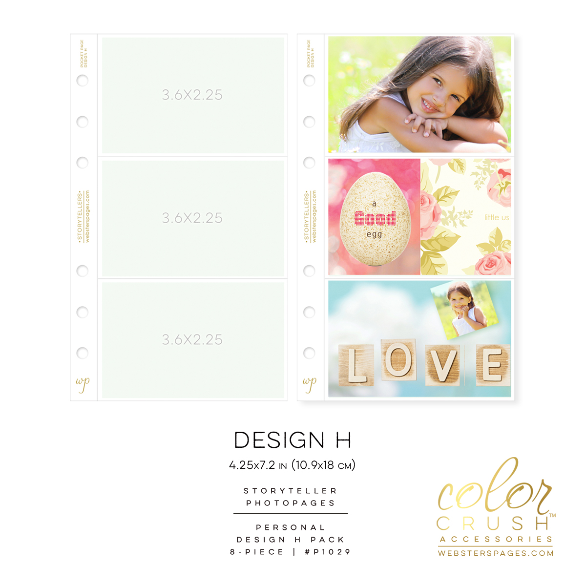 Color Crush Photo Pages